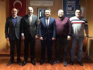 Kastamonu Barosu Başkanı Sayın Özgür DEMİR odamıza ziyarette bulundu. Kendisine teşekkür ediyor ve ç