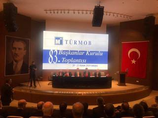 83. Başkanlar Kurulu Toplantısına Katıldık