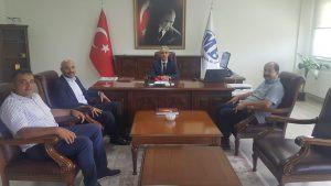 Yönetim Kurulu üyelerimizle birlikte Kastamonu Defterdarımız Sayın İhsan Mintaş ' ı makamında ziyare