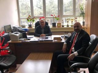 Kastamonu Sepetçioğlu Mesleki ve Teknik Lisesi Müdürümüz Sayın Sadık Dibek'i makamında ziyaret ettim