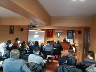 Odamız toplantı salonunda LUCA programının eğitimini eğitmenimiz Ayşegül Eken'nin sunumuyla tamamlad