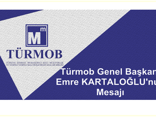 Türmob Genel Başkanı Emre KARTALOĞLU'nun Mesajı