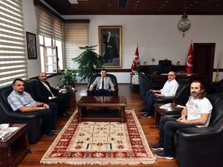 Kastamonu Üniversitesi Rektörü Prof.Dr.Ahmet Hamdi TOPAL'a Hayırlı olsun Ziyaretinde Bulunduk .
