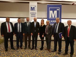 Çankırı SMMM Odası ev sahipliğinde gerçekleşen 34. Anadolu Odaları Platformu Toplantısına Katıldık.