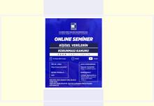 Kişisel Verilerin Koruma Kanunu Online Seminer