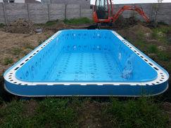Plasters plastovy bazen zaobleny prelivo