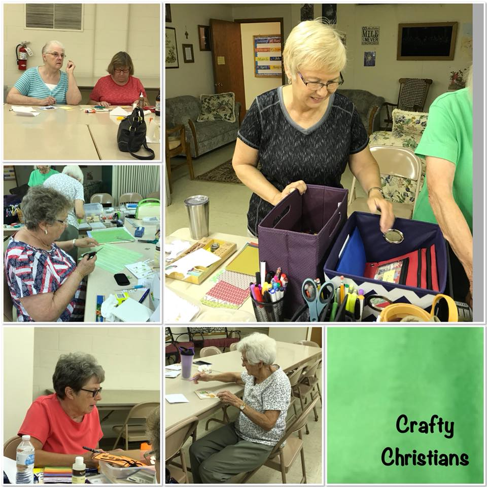 Card Making at Hallie Aug. 2018