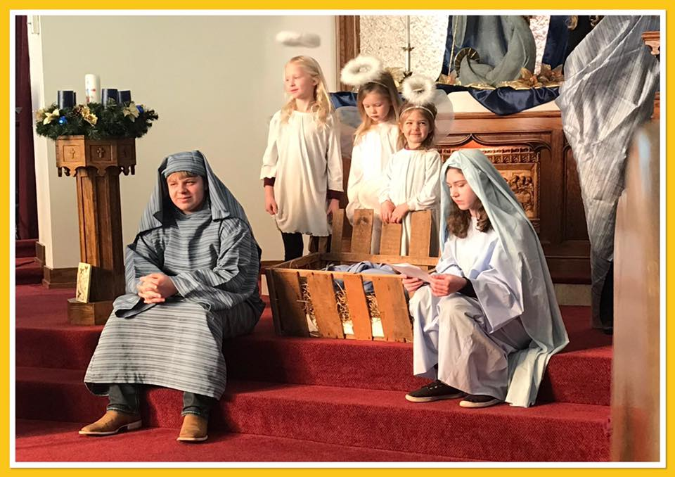 Mary, Joseph and Angels