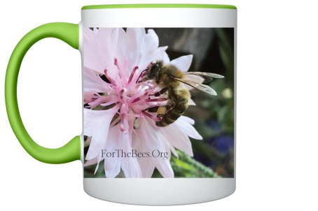Bee Mug (Pale Green)