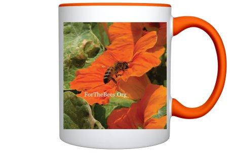 Bee Mug (Orange)