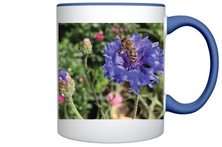 Bee Mug (Dark Blue)