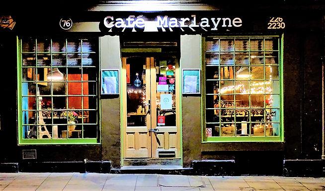 Très yum at Cafe Marlayne