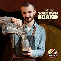 Blendly - create your own coffee.