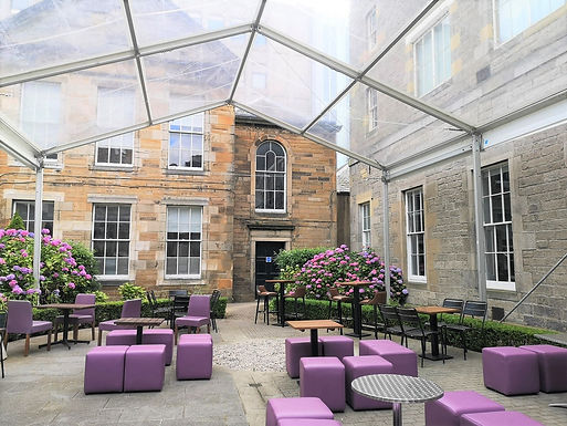 New outdoor oasis in Edinburgh city centre