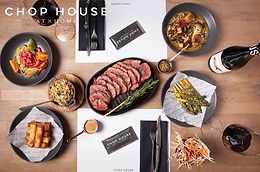 CHOP HOUSE at HOME - serving best of British beef and innovative cocktails