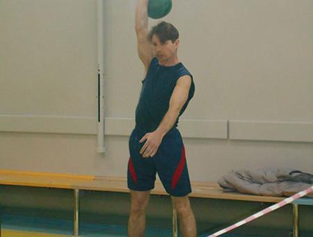 Казак принял участие в Краевом чемпионате по Гиревому Спорту
