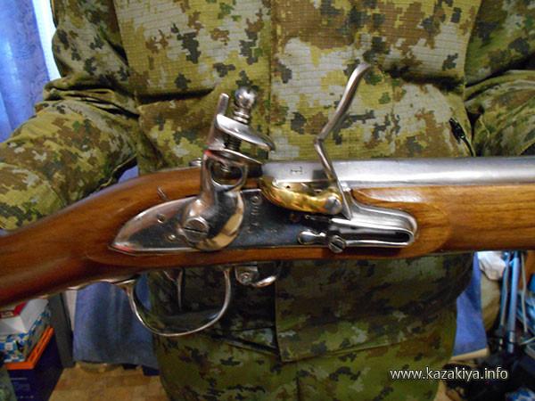 Замковый механизм ружья