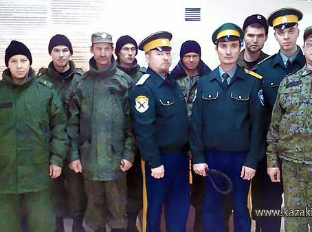 """На страже общественного порядка в ледовой арене """"Ерофей"""""""