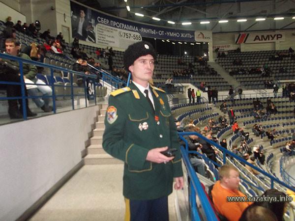 Старший урядник Пробатов Сергей Николаевич несёт вахту на вверенном ему участке