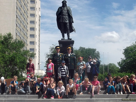 Идёт Казачья воспитательная работа в пришкольном лагере МБОУ СОШ № 23