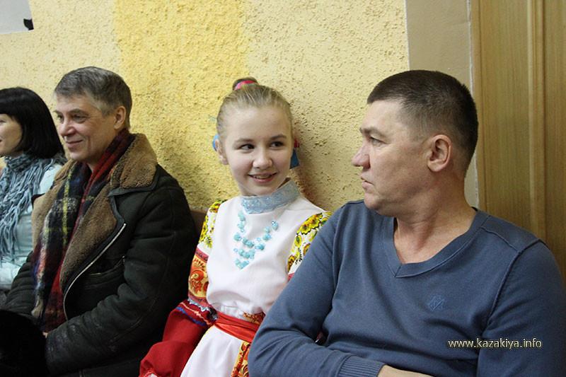 Родовой Казак с дочерью