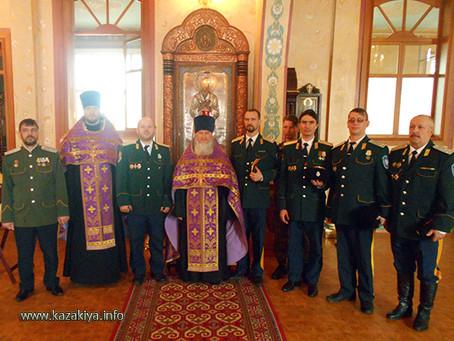 Хабаровские Казаки отметили день своего Небесного покровителя