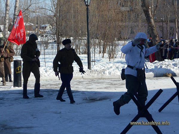 """""""фашисты"""" пленены"""