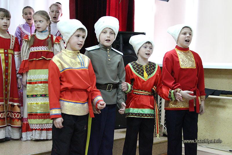Казачата поют