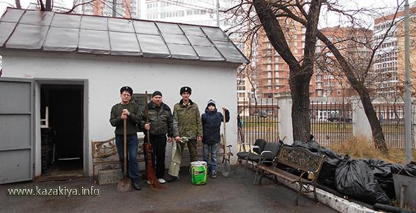Казачий трудовой экологический десант в Хабаровском Дендрарии
