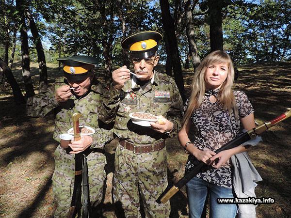 Вкусна солдатская каша!