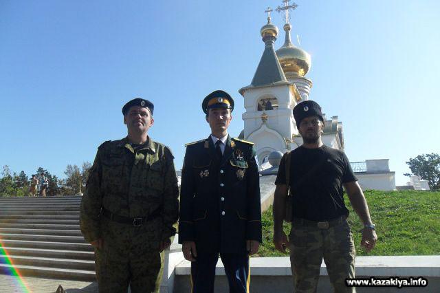 Хабаровские казаки молились о упокоении души героя Гражданской войны Атамана Семёнова