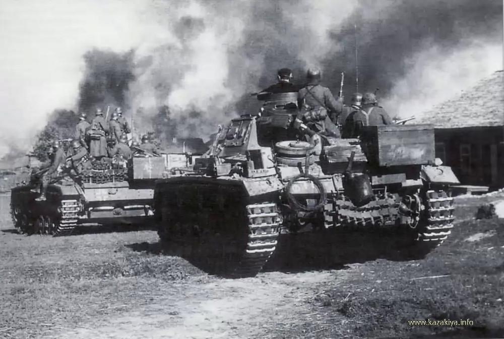 Вероломное нападение фашистской Германии на СССР 22 июня 1941 года