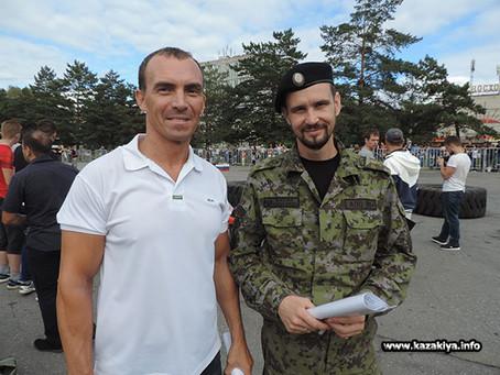 Казаки приняли участие в проведении турнира по силовому экстриму