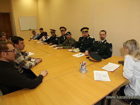 Казаки г. Хабаровска приняли участие в третьем обучающем семинаре-совещании для народных дружин г. Х
