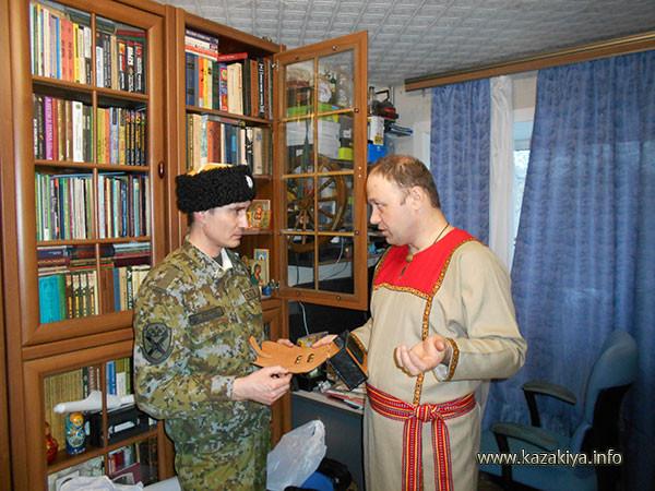 Младший вахмистр Пробатов Сергей Николаевич и Белых Павел Валерьевич