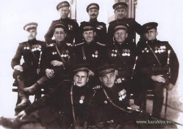 Донские Казаки перед Парадом Победы 1945 года