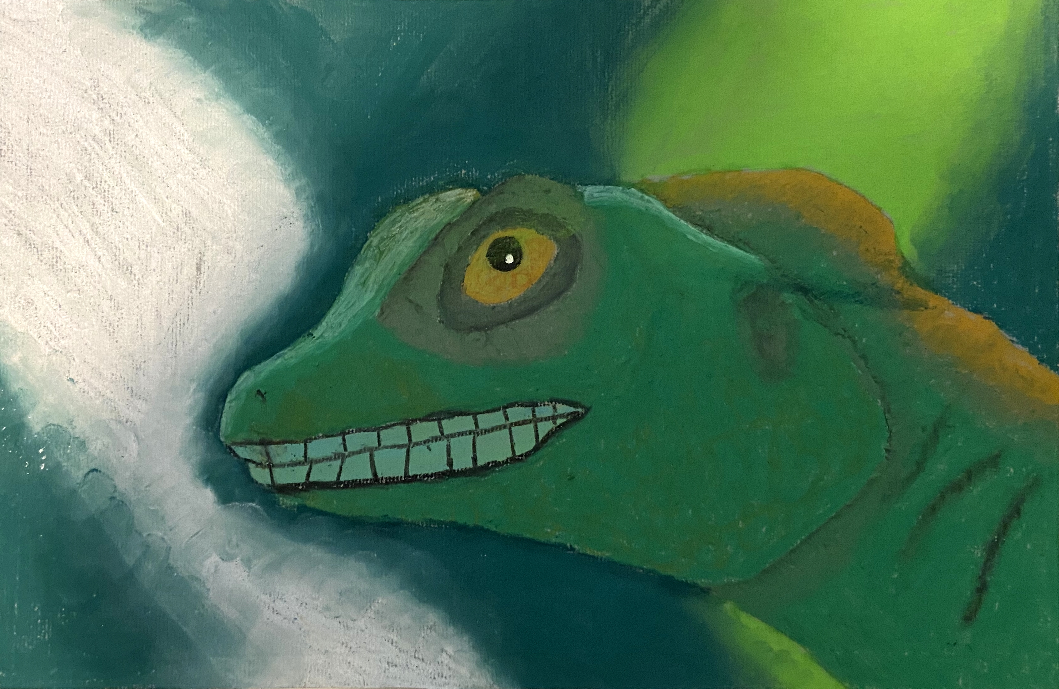 Phrog, the Socially Inept Lizard