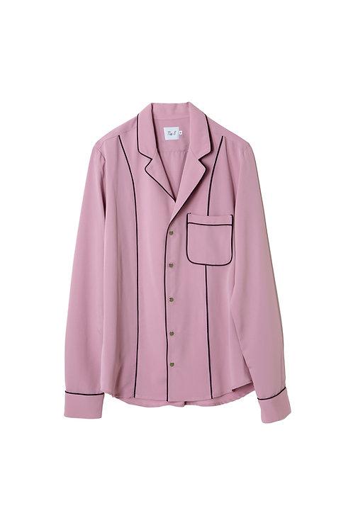 Pink Nº8 Pijama Shirt