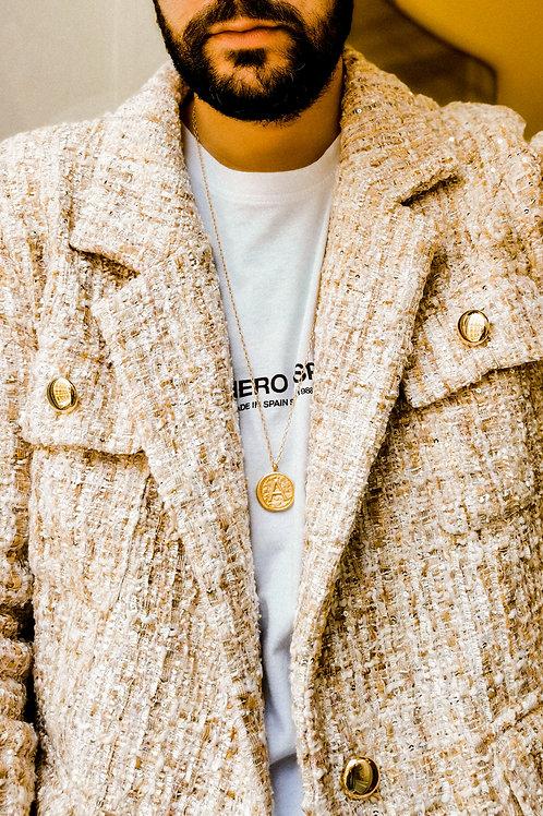Golden Sand Tweed Jacket