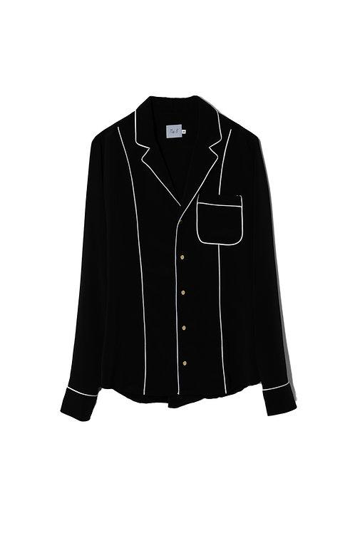 Black Nº8 Pijama Shirt