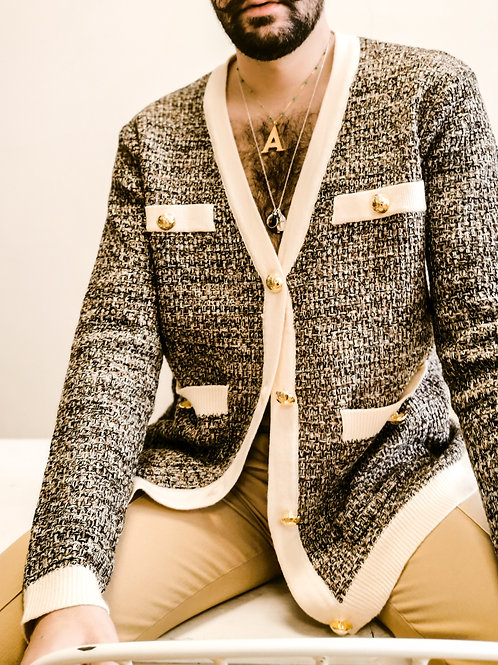 The Knit Cardigan Ivory