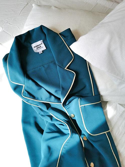 Green Nº8 Pijama Shirt