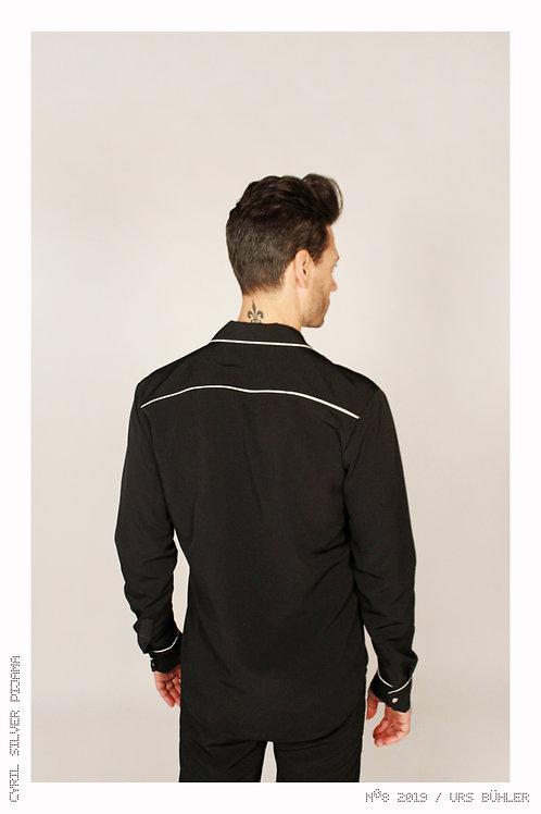 Silver Nº8 Pijama Shirt