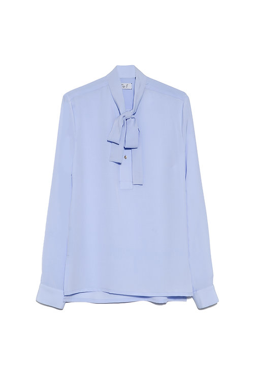 Baby Blue Bow Shirt