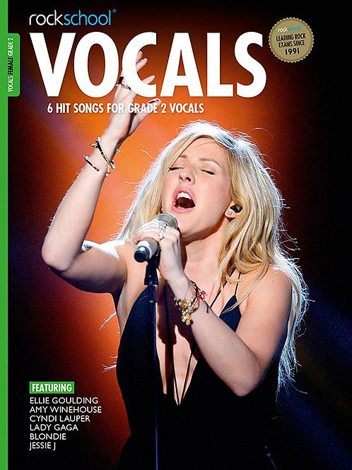Vocals para mujer | Grado 2 | Rockschool