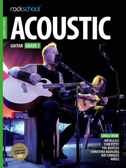 Guitarra Acústica | Grado 1 | Rockschool