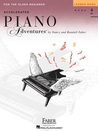 Piano Adventures Acelerado | Grado 2 | Hal Leonard