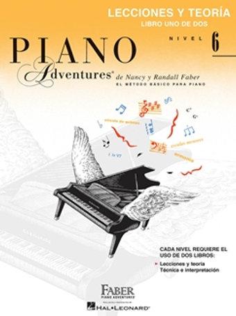 Piano Adventures | Grado 6 | Hal Leonard