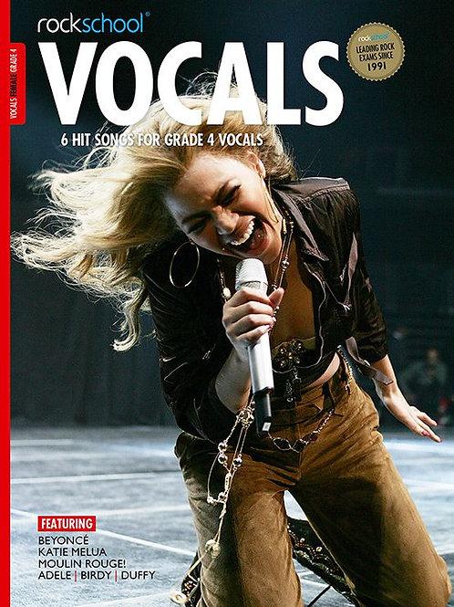 Vocals para mujer | Grado 4 | Rockschool