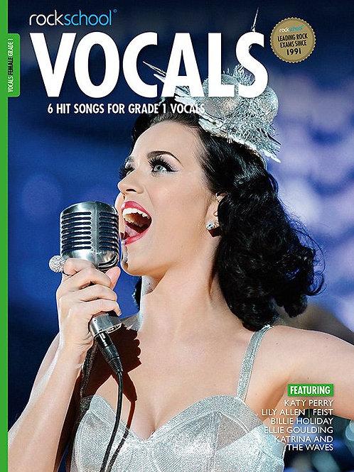 Vocals para mujer   Grado 1   Rockschool